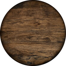 Old, Wooden Round Panel, Antiq...