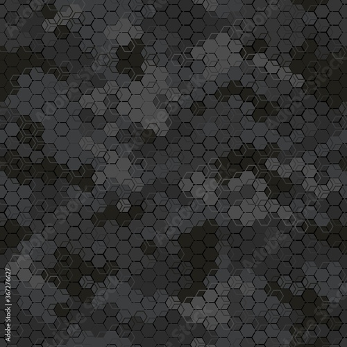 Tapeta czarna  texture-military-camouflage-seamless-pattern-abstract-army-vector-illustration