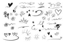 Hand Drawn Emphasis Elements, ...
