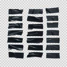 Realistic Black Glossy Insulat...
