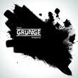 Brush Stroke Border Frame . Grunge Element for your Design .