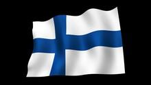 Finland Flag Loop