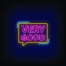 Very Good Neon Signs Style Tex...
