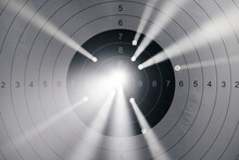 Shooting Target With Light Com...