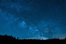 中山峠スキー場の星空