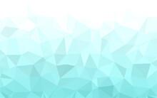 Blue Polygonal Mosaic Backgrou...