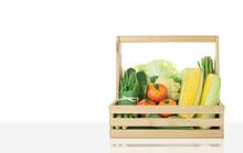 Various Fresh Organic Vegetabl...
