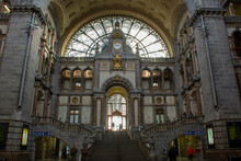 Central Station Antwerp, Fland...