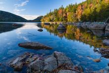 Autumn, Jordan Pond, Acadia Na...