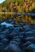 Autumn, Jordan Pond, Acadia National Park, Maine