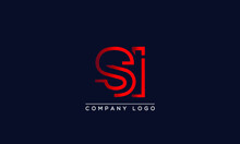 Creative Letters SI Or IS Logo...