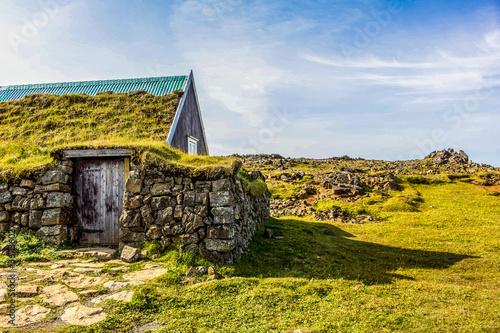 Photo Iceland Turf House
