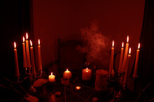 In A Dark Room On A Round Esot...
