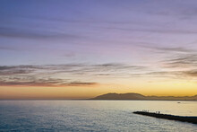 Landscape Of Mediterranean Sea...