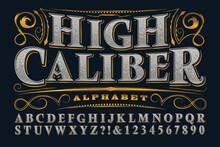 Vector Font, A Stylish Serif A...