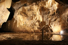 Cave With Stalactites And Stal...