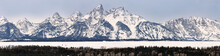 Panorama Of The Grand Teton Pe...