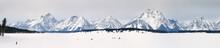 Panorama Of Ice Fishing On Jac...