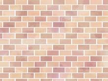 Red Random Brick Background Il...