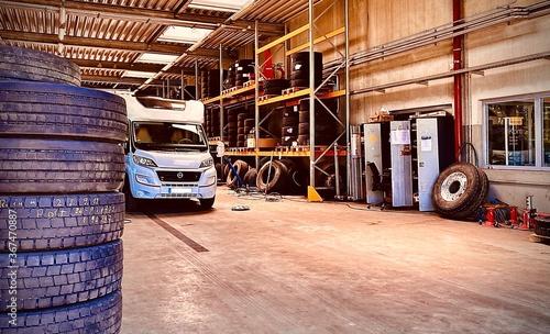 Photo Wohnmobil Werkstatt