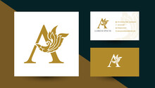 Letter A Logo Design With Thai...