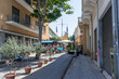 Lefkosia (Nicosia), Cyprus, Greece- AUGUST , 6 2019: the police station at green line in the old town of Nicosia, the last divided capital in the world