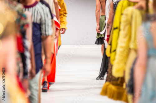 Fashion Show, Catwalk Runway Event, Fashion Week themed photograph - 367500859