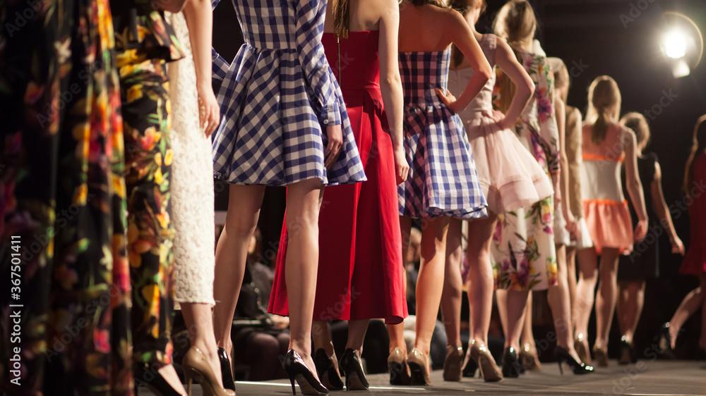 Fototapeta Fashion Show, Catwalk Runway Event, Fashion Week themed photograph