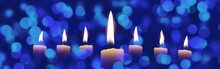 Illustration Of Candles With B...