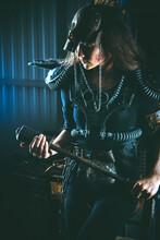 Post Apocalyptic Woman Warrior...