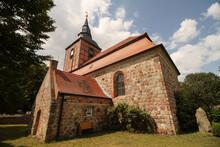 Dorfkirche Im Vorpommerschen N...