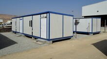 Portable House And Office Cabins. Labour Camp. Porta Cabin. Small Temporary Houses. Muscat, Oman : 27-07-2020