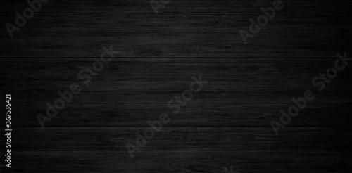 Fototapeta Black wood texture background with natural pattern obraz