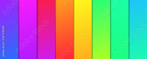 фотография Full spectrum color pallete. Warm and cold color sets