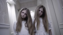 Supernatural Twin Girls Making Moves To Hypnotize Victim Creepy Nightmare