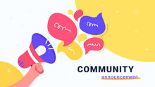 Community Announcement With Lo...