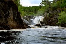 Rogie Falls In Flow