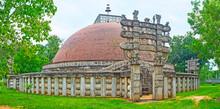 Torana Gates Of The Stupa, Mihintale, Sri Lanka