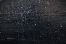 Black Scraped Texture