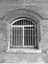 Fenster Eisengitter, Bogen, Sc...