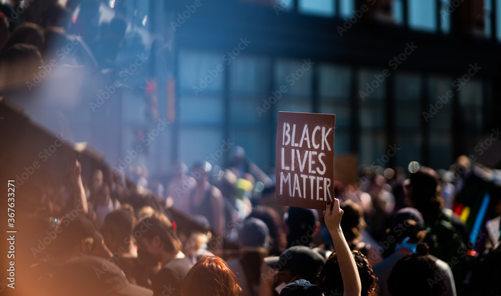Fototapeta Black Lives Matter