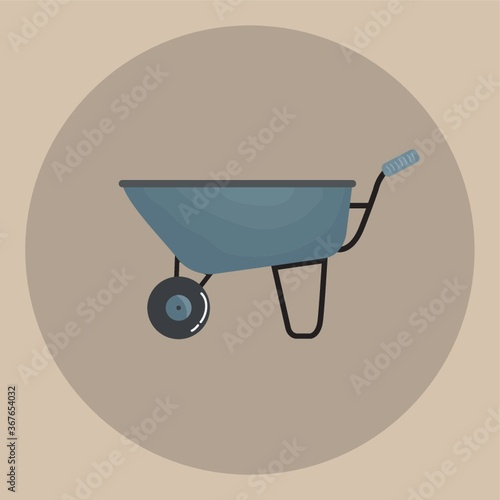 Photo wheel barrow