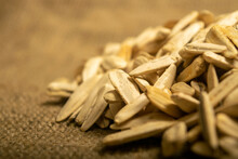 White Sunflower Seeds Fried Wi...