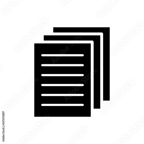 Fototapety, obrazy: file - document - proposal icon vector design template