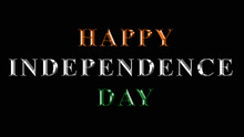 Happy Independence Day Tiranga...