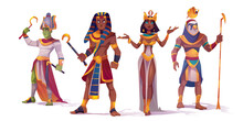 Ancient Egyptian God Amun, Osi...