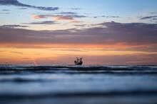 Landscaped Of Fisherman Boat I...