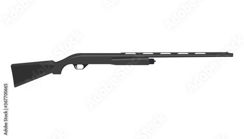 Obraz na płótnie Old rifle gun graphic vector