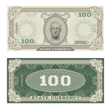 Vector Money Banknotes Illustr...