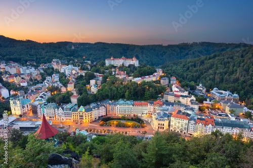Valokuvatapetti Karlovy Vary, Czech Republic